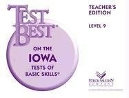 Test Best ITBS: Teacher's Edition  Grade K (Level 5) 1995