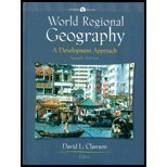 World Regional Geography 9780130168214