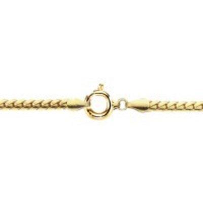 Collier-Or jaune 58514K-Char Motif creux