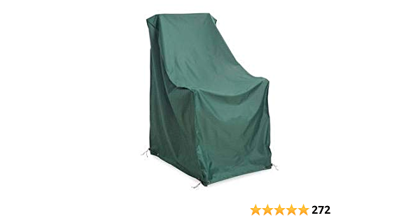 Heavy Duty Weather Resistant Deluxe Outdoor Rocking Chair Cover 2 Ply Polyester 26.75 L x 31 W x 44 H Sand