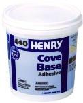 Henry No.440 Cove Base Adhesive Concrete Block, Drywall Wood, Brick, Plastic 1 Qt