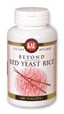 KAL Beyond Red Yeast Rice, 60 Count (Pack of (Kal Beyond Red Yeast Rice)