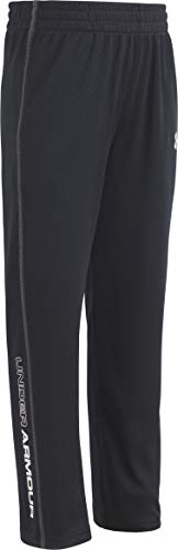 Under Armour Toddler Boys' Active Root Pant, Black UA, 4T