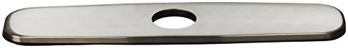 Danze DA665051BN Kitchen Faucet Single Hole Mount Cover Plate, 8-Inch, Brushed Nickel