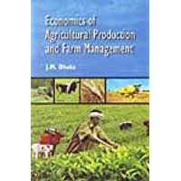 Economics of Agricultural Production and Farm Management