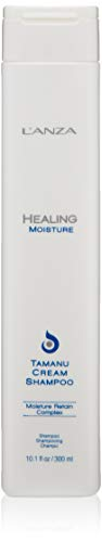 (L'ANZA Healing Moisture Tamanu Cream Shampoo, 10.1)