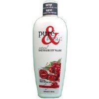 Basic Cherry Almond - PURE & BASIC BODY WASH,CHERRY ALMOND, 12 FZ