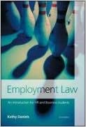 Employment Law: An Introduction for HR and Business Students