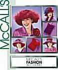 Mccall's 3987 Hats & Purses for RED HAT CLUB, Historical Hats, Fashion (Red Hat Society Charms)