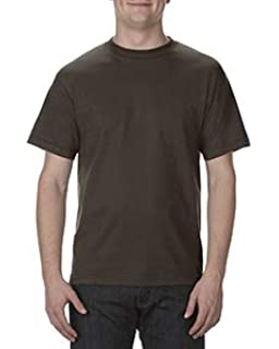 8eab6058c Amazon.com: AlStyle Apparel AAA Plain Blank Men's Short Sleeve T ...