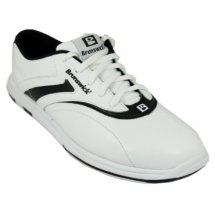 Brunswick Women's Silk Bowling Shoes (White/Black, 11) by Brunswick