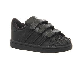 adidas Superstar Foundation CF I - Zapatillas infantil Negro