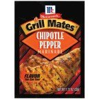 McCormick Grill Mates Chipotle Pepper Marinade Mix (Smoky, Spicy Blend of Chipotle Peppers, Tomatoes, Garlic and Onion, Great for Chicken, Pork or Seafood), 1.13 ()