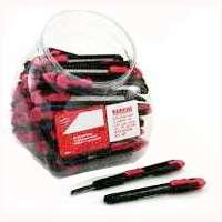 Utility Knife Display (VERMONT AMERICAN 85003 Utility Knife Display Clear plastic jar, 75 Piece)