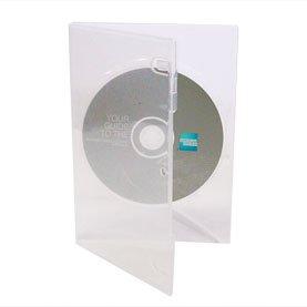 Bulk - Set de cajas para CD/DVD (50 unidades, 14 mm,