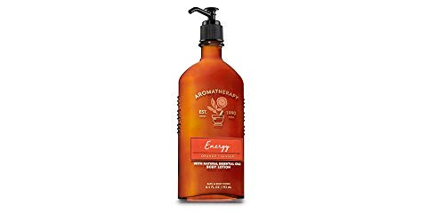 Bath & Body Works Aromatherapy Energy – Orange + Ginger Body Lotion, 6.5 Fl Oz