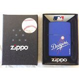 MLB Los Angeles Blue Zippo Lighter