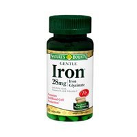 Gentle Iron - Nature's Bounty Gentle Iron 28 mg Capsules 90 Capsules (Pack of 2)