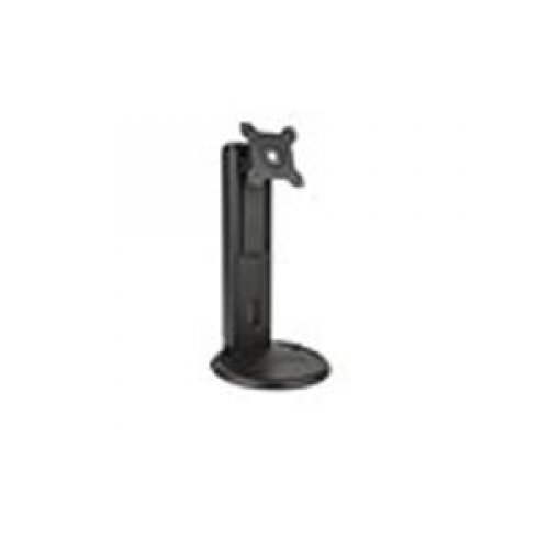 Planar 997-7029-00 Universal Height Adjust Stand - Stand for monitor ( Tilt & Swivel ) - black - screen size: 17 inch - 27 inch - mounting interface: 100 x 100 mm, 75 x 75 mm