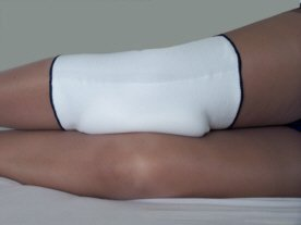 Osteoarthritis-Night-Knee-Pad-Side-Sleeper-White