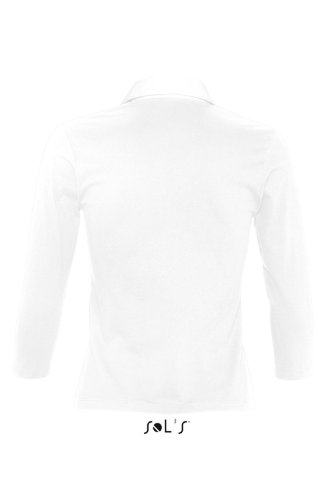 SOL´S Ladies Polo Shirt Panach, Größe:L, Farbe:White/White