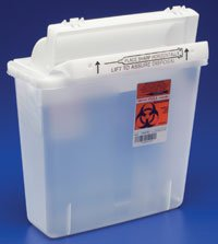 PT# 8506SA PT# # 8506SA- Container Sharpstar In-Room ClEar 5qt Ea by, Kendall Company by KendallCompany