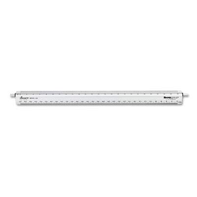 CHA240 - Adjustable Triangular Scale Aluminum Engineers Ruler by Chartpak (Image #1)