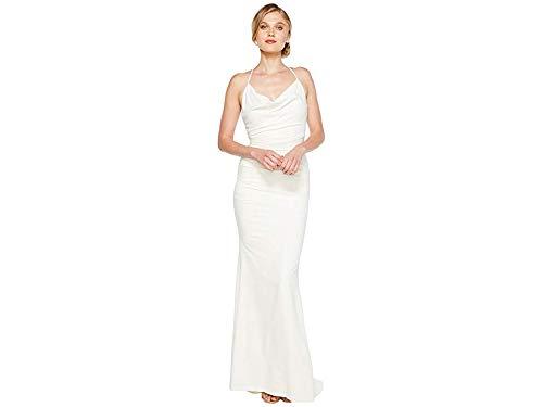 Nicole Miller Women's Tara Bridal Gown Antique White 8