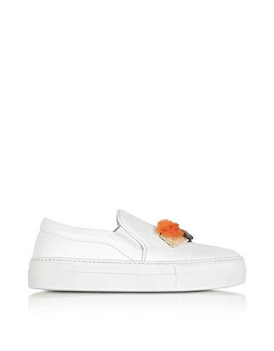 huge discount 2b76b 9cb55 Bianco 10078whitesushi Sneakers Slip On Donna Sanders Pelle Joshua qSwOx00
