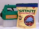 DustMite & Flea Control, 2 lb bag, with a Fogmaster jr