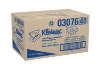 3076 Kleenex Tissue Facial 125Sheets Per Box 12Bx Per Case by Kimberly Clark Professional -Part no. 3076