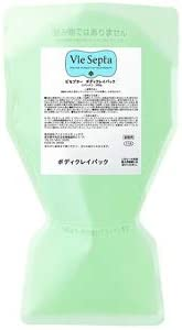 Amazon Co Jp Vie Septa Viseptor Body Clay Pack Commercial Use 17 6 Oz 500 G Viseptor Body Clay Pack Salon Supplies 17 6 Oz 500 G Este Salon Beauty Salon Cosmetics Beauty