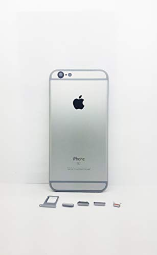 - E&B Metal Back Housing Cover Replacement for iPhone 6S (Space Gray)