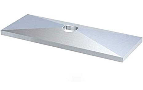 STAUFF, GD1DW3, Cover Plate Carbon Steel, zinc/Nickel-Plated