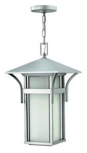 - Hinkley 2572TT Transitional One Light Hanging Lantern from Harbor collection in Pwt, Nckl, B/S, Slvr.finish,
