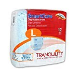 Tranquility SmartCore Breathable Briefs, Large, Case/96 (8/12s)