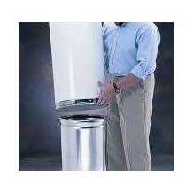 Witt Industries 12DTL Indoor Trash Can Liner With 12 Gallon, Galvanized Steel