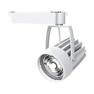 OKAMURA 配線ダクトレール用 LEDスポットライト エコ之助スーパー鮮度クン LED54W 精肉向け スーパーワイド配光(SWレンズ) 高演色高彩度 本体色:白 OECD3SRHN50(SWレンズ)+精肉用フィルター   B07RW5LW9V