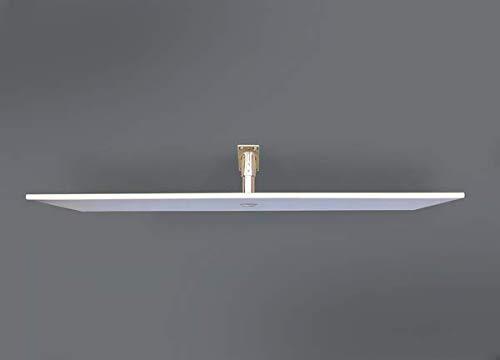 Pannello Radiante a Infrarossi in Vetro Ultrasottile Design Elegante e Prestazioni Elevate Bianco 10 mm PION Twiggy TG 440 W Garanzia 5 anni.