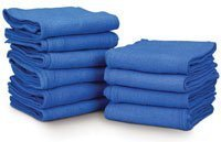PT# 724-B B- Towel OR Cotton 4x20 17x26'' Blue Sterile 80/Ca by, Medical Action Industries