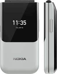 Nokia 2720 Flip Dual SIM Grey 4GB 512MB RAM 4G LTE (UAE Version)