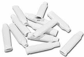 B Wire Connectors White Pack of 100 for Low Voltage Wire (Alarm or Telco)