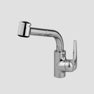KWC 10.061.003.127 DOMO Single Lever Pull Out Kitchen Faucet, Splendure  Stainless Steel Idea