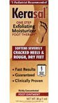 Kerasal One Step Exfoliating Moisturizer Foot Therapy Ointment 1 oz by Kerasal