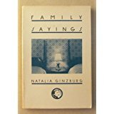 img - for Family Sayings (English and Italian Edition) book / textbook / text book