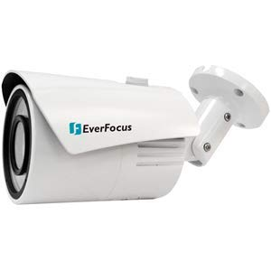 EVERFOCUS Electronics CORPORAT | EZN468, 4 Megapixel IR IP RJ45 Connection Outdoor Bullet Camera, 3.6 mm