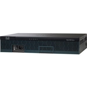 Cisco 2911 Integrated Services Router - 3 Ports - Yes - 10 Slots - Gigabit Ethernet - 2U - Rack-mountable, Wall Mountable - C2911-VSEC-CUBE/K9 by Generic