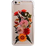 "Case for Iphone 6S Plus,Fifine Iphone 6s Plus case ,Real Pressed Colorful Flowers Phone Case for Iphone 6 Plus/6S Plus 5.5""-463"