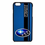 subaru-wrx-logo-on-a-field-of-simulated-blue-carbon-fiber-with-black-stripe-iphone-6-case-iphone-6s-