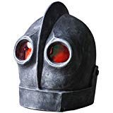 Hongzhi Craft The Iron Giant Head Mask Halloween Robot Latex Mask Cosplay Alien -